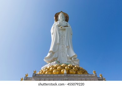 The Guan Yin of the South Sea in Nanshan temple, Sanya, Hainan province, China