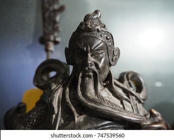 Guan Yu is also known as Guan Di, Guan Gong, Guan Yu was a historical person who lived in China during the Three Kingdoms period