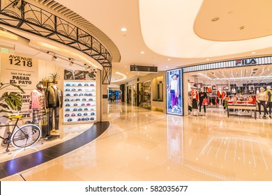 GUANGZHOU, CHINA - FEB 13.:Parc Centra mall in Guangzhou on Feb 13, 2017. This is a large shopping center.