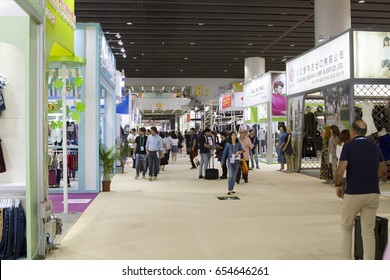 GUANGZHOU - CHINA - MAY 01, 2017 : CHINA IMPORT AND EXPORT FAIR COMPLEX on May 01, 2016 in Guangzhou. This is the world's largest convention and exhibition center,An area of 713,000 square meters.