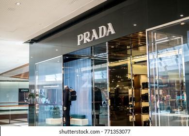 Guangzhou, China-October 02, 2016, PRADA store in Taikoo Hui