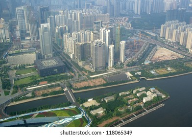 Guangzhou city panorama