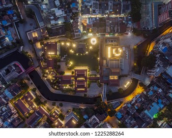 Guangzhou city scenery, Cantonese opera art museum