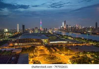 Guangzhou city scenery, Pazhou Convention and Exhibition Center