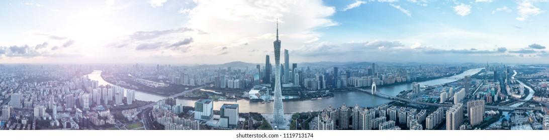 Guangzhou city scenery, Guangzhou Tower