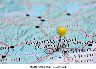 Guangzhou Map Stock Photos, Images & Photography | Shutterstock