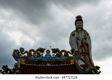 Guano Yin Bodhisattva, the largest in Thailand