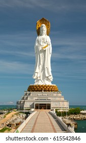 The Guanyin of the South Sea of Sanya in China
