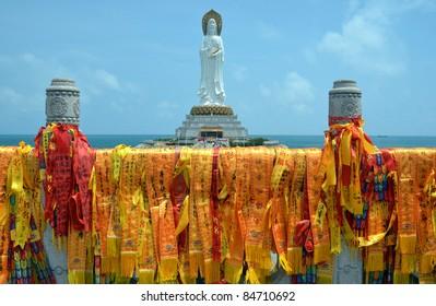 Guanyin statue, Hainan province, China