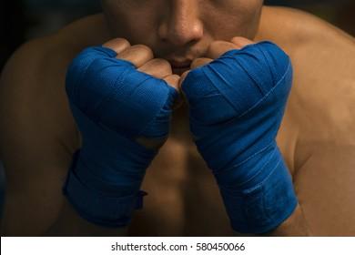 Guard boxing,Thai boxing