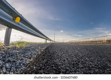 guardrail, is a system designed to keep people or vehicles from straying into dangerous or off-limits areas.