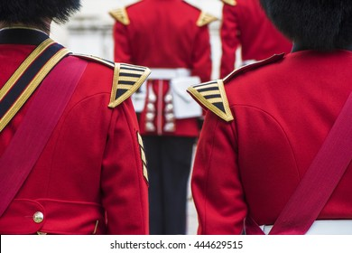 Guards at Whitehall. London