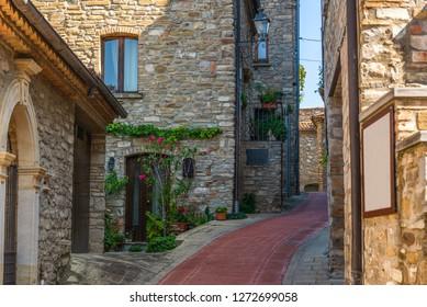 Guarsia Perticara streets views, Basilicata