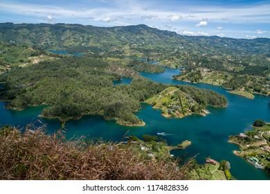 Guatape Colombia El Penon