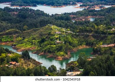 Guatape Dam, Antioquia, Colombia