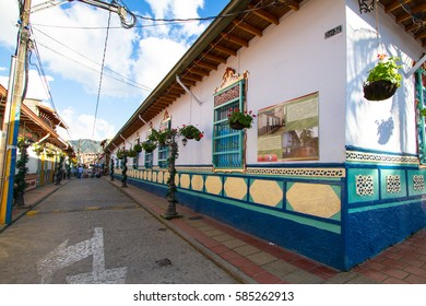 Guatape is a small, very pretty lakeside town in Antioquia. The picturesque in town is known as the Pueblo de Zocalos, named for the beautifully sculpted and painted depictions of village life.