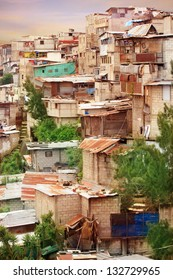 Guatemala City Shantytown Favela