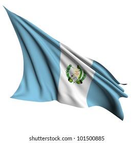 Guatemala flag - collection no_4