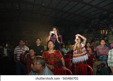 GUATEMALA - July 30, 201- The national folk festival of Cobán Alta Verapaz. Rabin Ajaw The Daughter of the King, National Indigenous Queen, Guatemala. Editorial