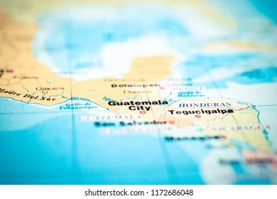 Guatemala Map Pin Images, Stock Photos & Vectors   Shutterstock