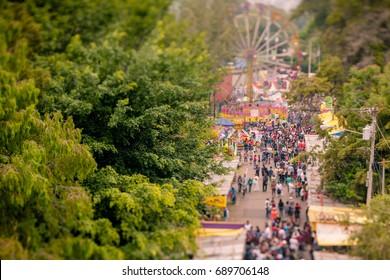 Guatemalan street fair at Jocotenango.
