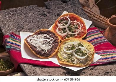 Guatemalan tostadas.