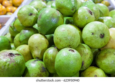 Guava fruit background display for sale