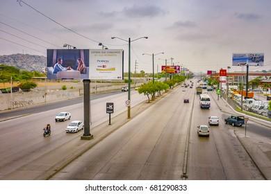 GUAYAQUIL, ECUADOR, NOVEMBER - 2016 - Urban day scene at Guayaquil city, Ecuador