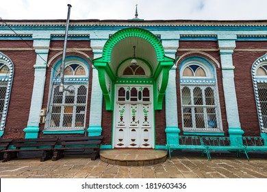 Guba, Azerbaijan, September 13, 2020.The old Haji Jafar mosque, built in 1902