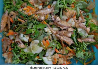 Gudangan traditional food of java indonesia