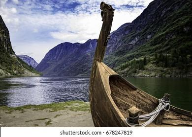 Gudvangen in sogn og fjordane Viking ships were marine vessels of unique design, built by the Vikings during the Viking Age.