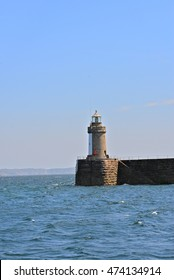 Guernsey, Channel Islands, lighthouse