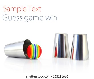 Guess game win thimbles
