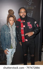 """Guest arrives at the Launch Party for Stevie J aka """"Sleazy J""""  in Atlanta Georgia USA at the Revel in Atlanta on January 18th 2018"""