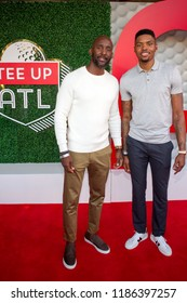 Guest - Tee Up Atlanta at the College Football Hall of Fame in Atlanta Georgia - USA , September 17th 2018- The Tour Championship PGA Tour golfers