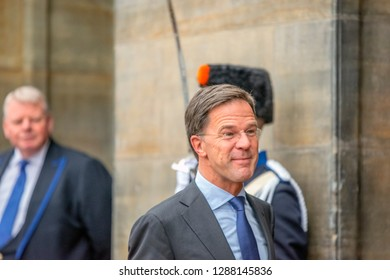 Guests At The New Years Reception From The King Of The Netherlands 2019 Mark Rutte