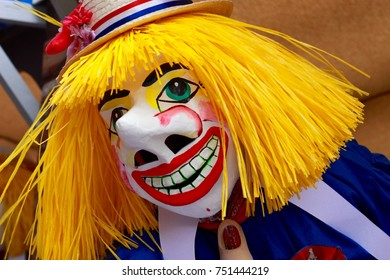 Guggen mask from Basel Fasnacht 2017