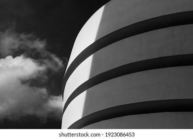 Guggenheim museum building, New York - Shutterstock ID 1923086453