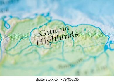 Guiana Highlands Images, Stock Photos & Vectors | Shutterstock