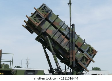 Guided Missiles on a Military truck