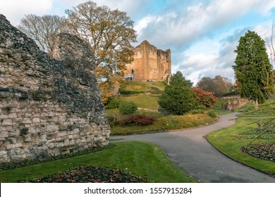 Guildford Castle in Surrey , England , was built in 1066 AD.