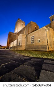 Guildford Cathedral The People Cathedral at night Guildford Surrey England
