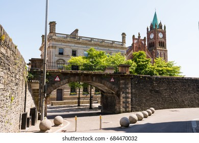 The Guildhall in Derry, Northern Ireland