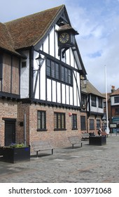 The Guildhall Museum, Sandwich, Kent, UK