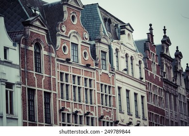 Guildhalls on the Grand Place, Brussels, Belgium