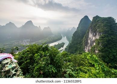 Guilin Lijiang Mountain Range