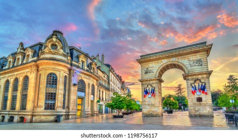 The Guillaume Gate on Darcy square in Dijon, France