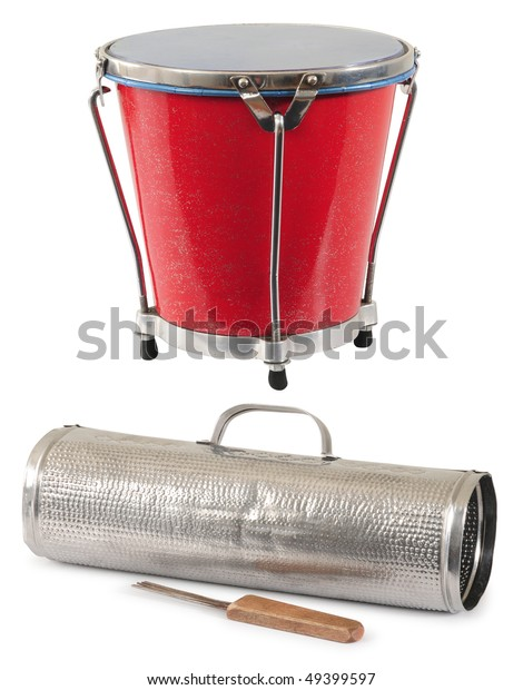Guiro Drum South American Music Instruments Stock Photo (Edit Now