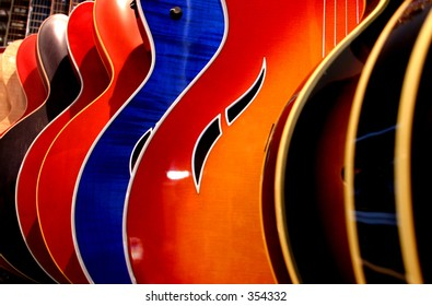 Guitar abstracts