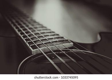 Guitar acoustic .wood